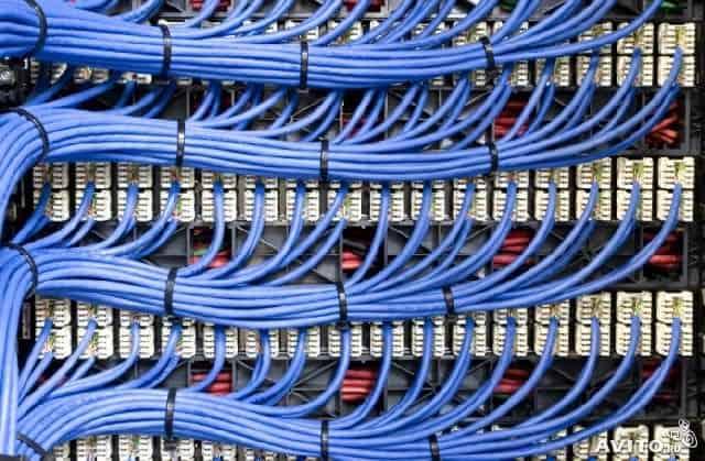 монтаж слаботочных сетей